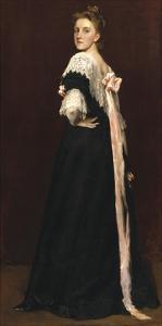 Lydia Field Emmet, 1892 by William Merritt Chase