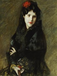 Mrs. Chase in Spanish Costume by William Merritt Chase