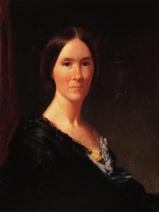 Mrs. Margaret Creighton Bateman, Shelter Island, New York, C.1870 by William Merritt Chase