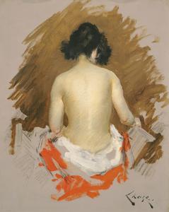 Nude, c.1901 by William Merritt Chase