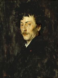Pablo de Sarasate: Portrait of a Violinist, c.1875 by William Merritt Chase