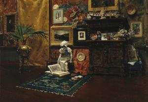 Studio Interior, c.1882 by William Merritt Chase