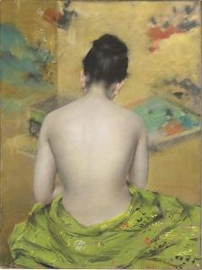 Study of Flesh Colour and Gold, 1888 by William Merritt Chase