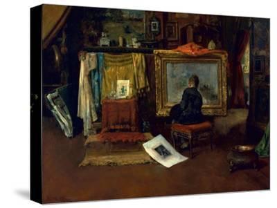 The Inner Studio, Tenth Street, 1882