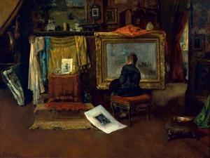 The Inner Studio, Tenth Street, 1882 by William Merritt Chase