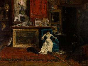 The Tenth Street Studio, 1880 by William Merritt Chase