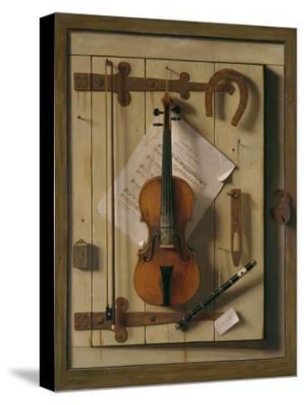 Still Life, Violin and Music, 1888