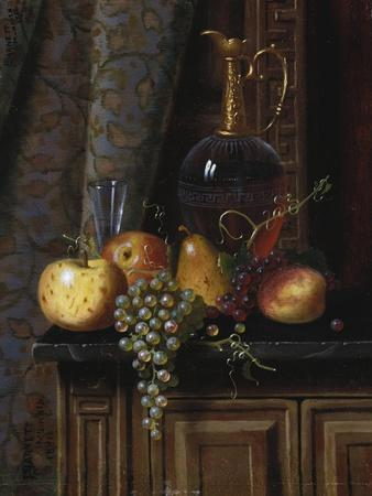Still Life with Fruit and Claret, 1881