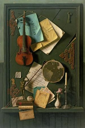 The Old Cupboard Door, 1889