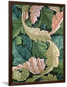 """""""Acanthus"""" Wallpaper Design, 1875 by William Morris"""