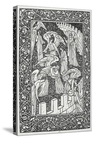 Angels Behind the Inner Sanctuary, from The Kelmscott Chaucer, Published by Kelmscott Press, 1896