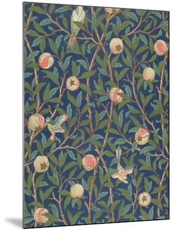 'Bird and Pomegranate' Wallpaper Design, printed by John Henry Dearle by William Morris