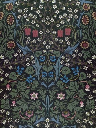 Blackthorn, Wallpaper Design, 1892 by William Morris