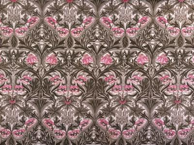 Bluebell or Columbine Furnishing Fabric, Printed Cotton and Linen, England, 1876 by William Morris