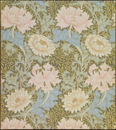 Chrysanthemum' Wallpaper, 1876 by William Morris