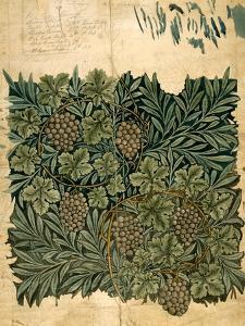 Design For Vine Wallpaper, c.1872 by William Morris