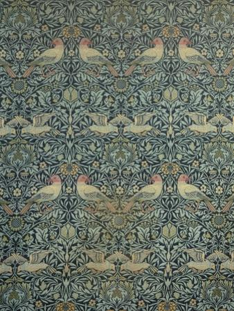 Dove and Rose Fabric Design, c.1879 by William Morris