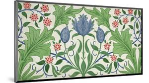 Floral Wallpaper Design by William Morris