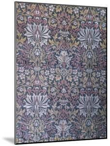 Flower Garden Furnishing Fabric, Jacquard Woven Silk, England, 1879 by William Morris