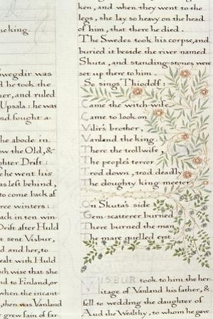 Fragment from 'The Story of the Ynglings' by William Morris