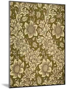 Fritillary Wallpaper, Colour Woodblock Print, England, 1885 by William Morris