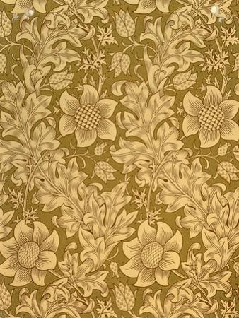 'Fritillary' Wallpaper Design, 1885 by William Morris