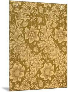 'Fritillary' Wallpaper Design, 1885 by William Morris