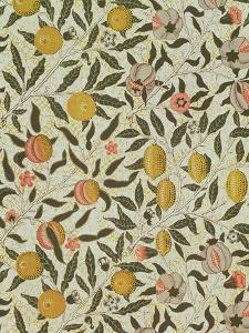 Fruit or Pomegranate Wallpaper Design by William Morris
