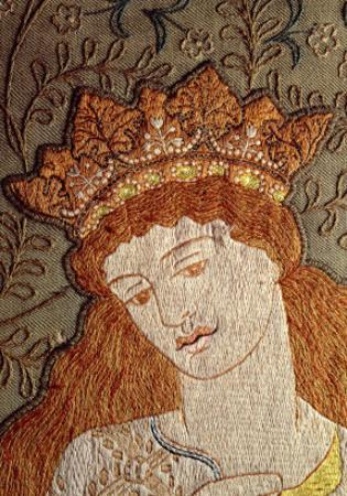 Illustration from Geoffrey Chaucer's Legend of Good Women, c.1875 by William Morris