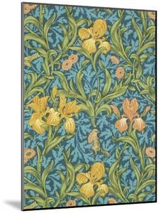 Iris Wallpaper, Paper, England, Late 19th Century by William Morris