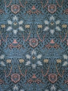 Isaphan Furnishing Fabric, Woven Wool, England, Late 19th Century by William Morris