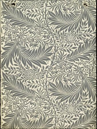 Larkspur, Wallpaper Design, 1872 by William Morris
