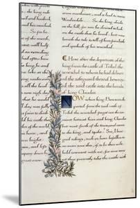 One of Two Fragments from Lancelot Du Lac (Re 223038) by William Morris