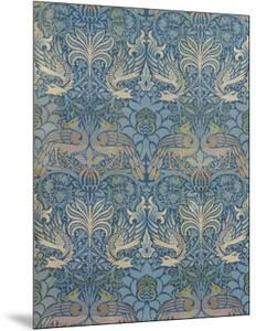 "Panel Entitled ""Peacock and Dragon"", 1878 by William Morris"