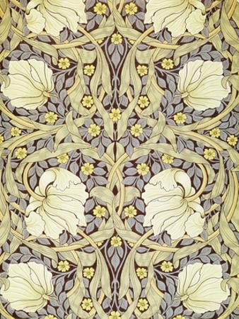 Pimpernell, Wallpaper Design by William Morris