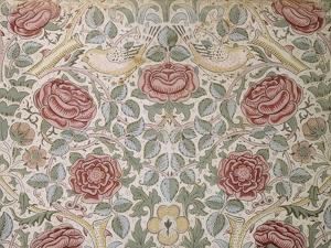 Printed Chintz Cotton and Linen Chemise in the Rose Pattern, 1896 by William Morris