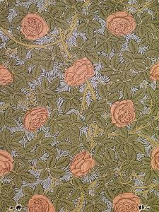 """Rose - 93"" Wallpaper Design by William Morris"