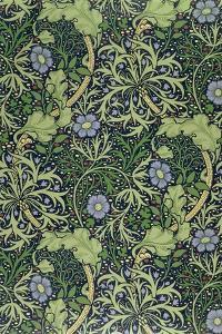 Seaweed Wallpaper Design, printed by John Henry Dearle by William Morris