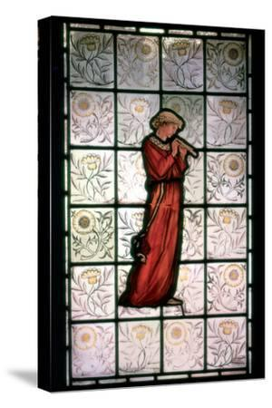 Stained Glass, Minstrel, 1882-1884