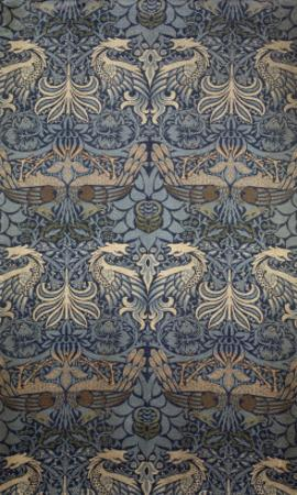 Tenture Peacock by William Morris