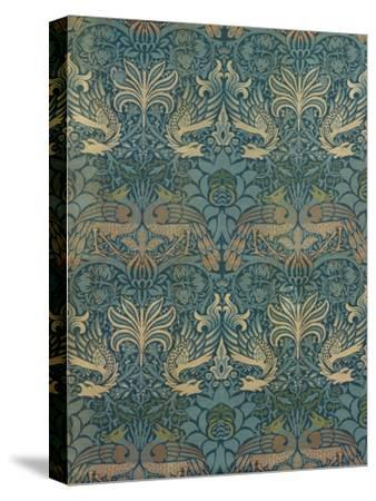 William Morris Peacock and Dragon Textile Design, C.1880