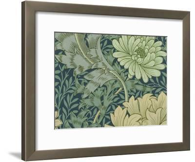 William Morris Wallpaper Sample with Chrysanthemum, 1877