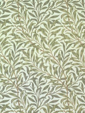 """""""Willow Bough"""" Wallpaper Design, 1887 by William Morris"""