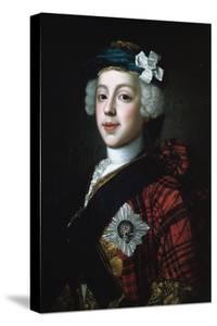 Prince Charles Edward Stuart (Bonnie Prince Charlie) by William Mosman
