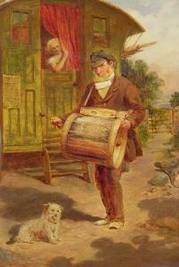 Gypsy Caravan by William Mulready