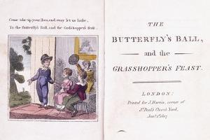 Illustrated Frontispiece from the Children's Book by William Mulready