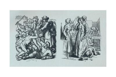 'Illustrations to 'The Vicar of Wakefield' (Goldsmith).', c1800-1860, (1923)