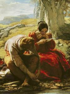 The Sonnet, 1839 by William Mulready