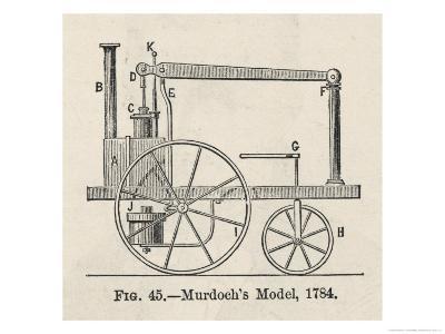 William Murdoch's Locomotive Engine-Robert H. Thurston-Giclee Print