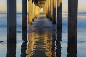 La Jolla Pier I by William Neill